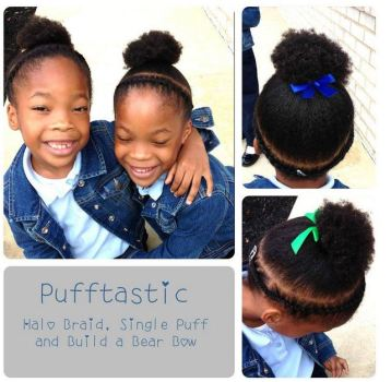 Afro Puff 06